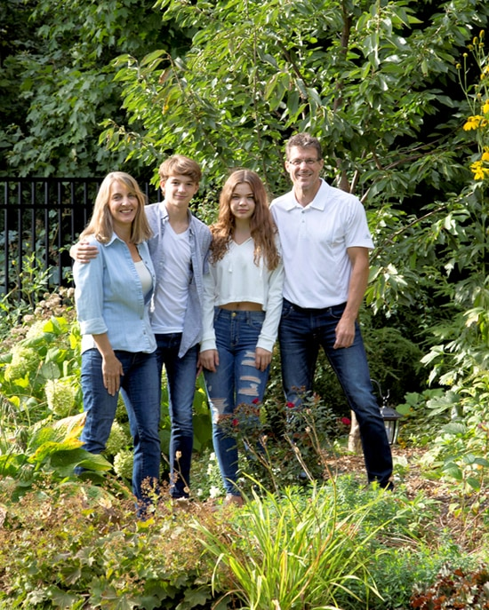 Kathryn Harrison and family